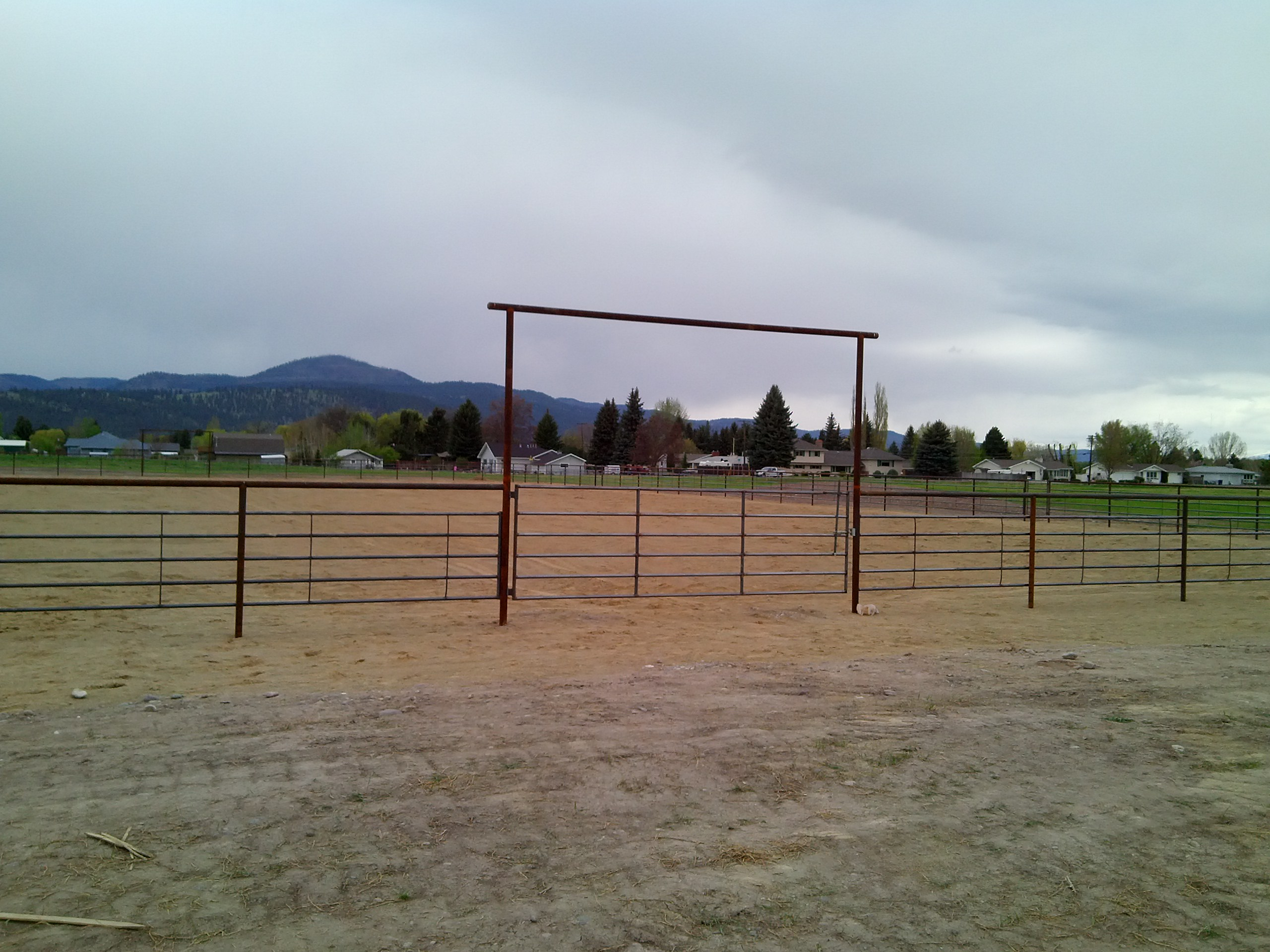 Arena fencing