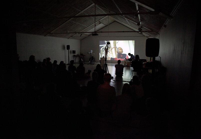 multimedia art sound art video art performance galleri ram