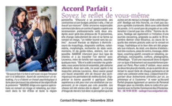 Accord Parfait agence de Conseil en Image s'occupe de ses clients. Coaching individuel et personnalisé. Organisation de salon Beauté et Bien-Être sur Cergy Pontoise.
