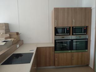laboratorio y cocina...
