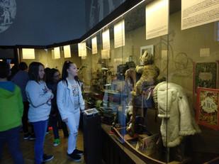 Visita al museo del pueblo...