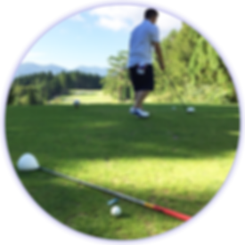 旅行でゴルフ