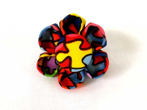 puzzle - flower bow