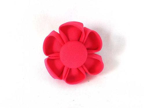 dark pink - flower bow