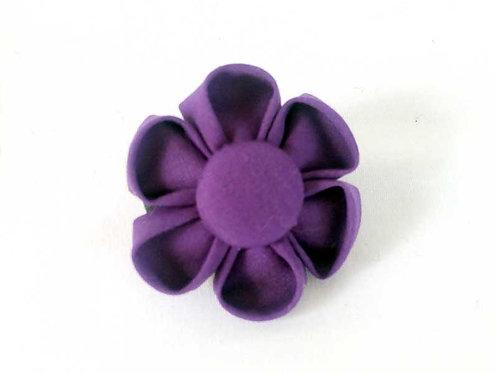 purple - flower bow