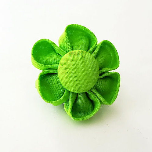 lime green - flower bow