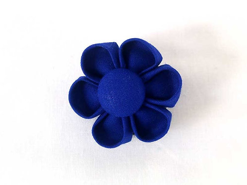 royal blue - flower bow