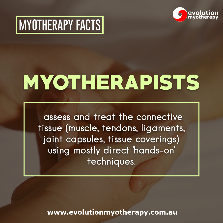 Myotherapy Facts #17
