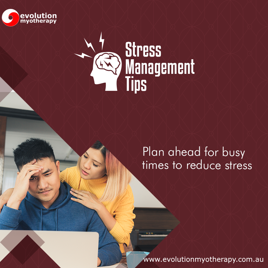 Stress Management Tips #16