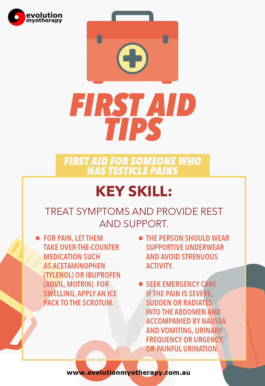 First Aid Tips #19: Testiclular Pain