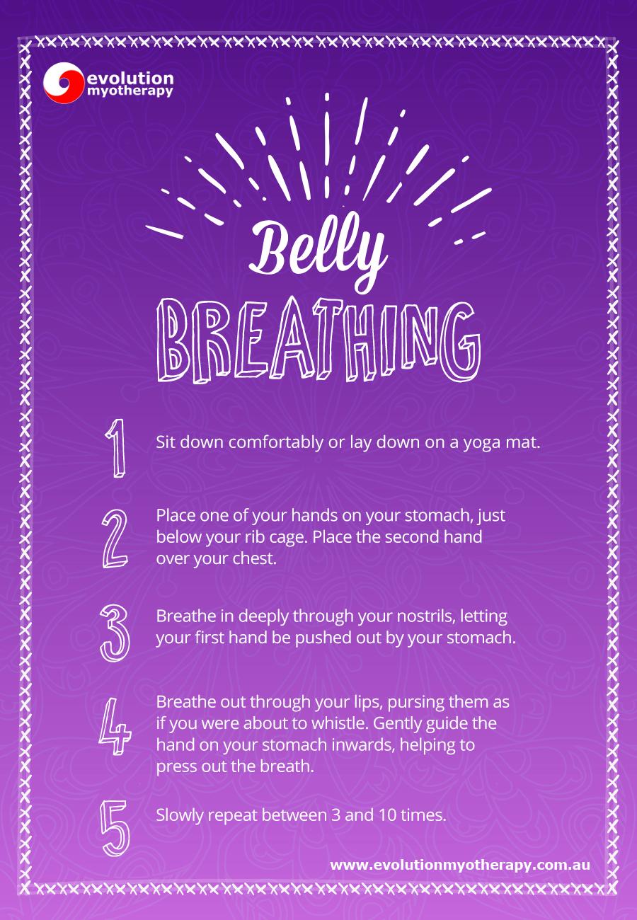 Breathing Exercises: Belly Breathing