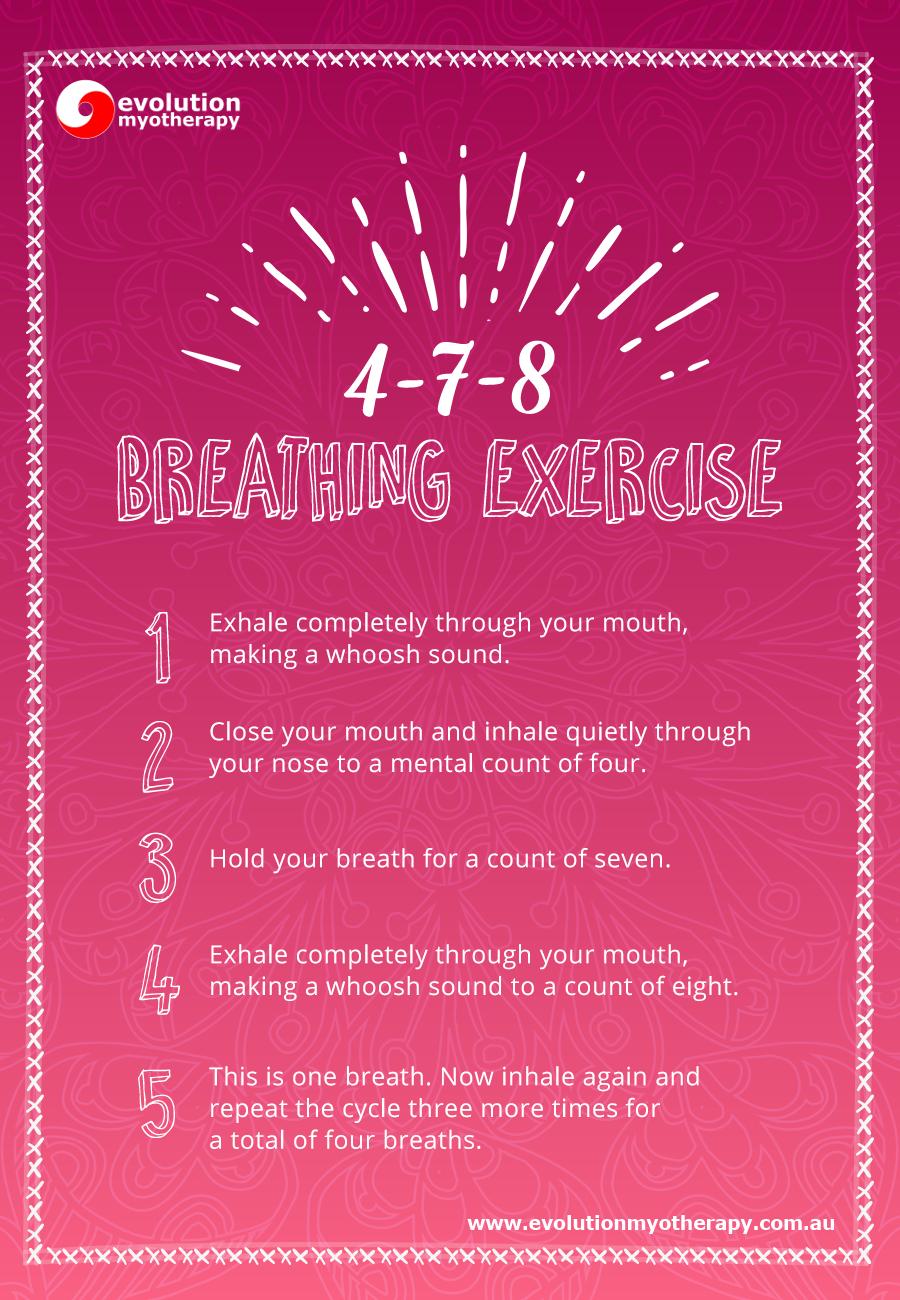 Breathing Exercises: 4-7-8