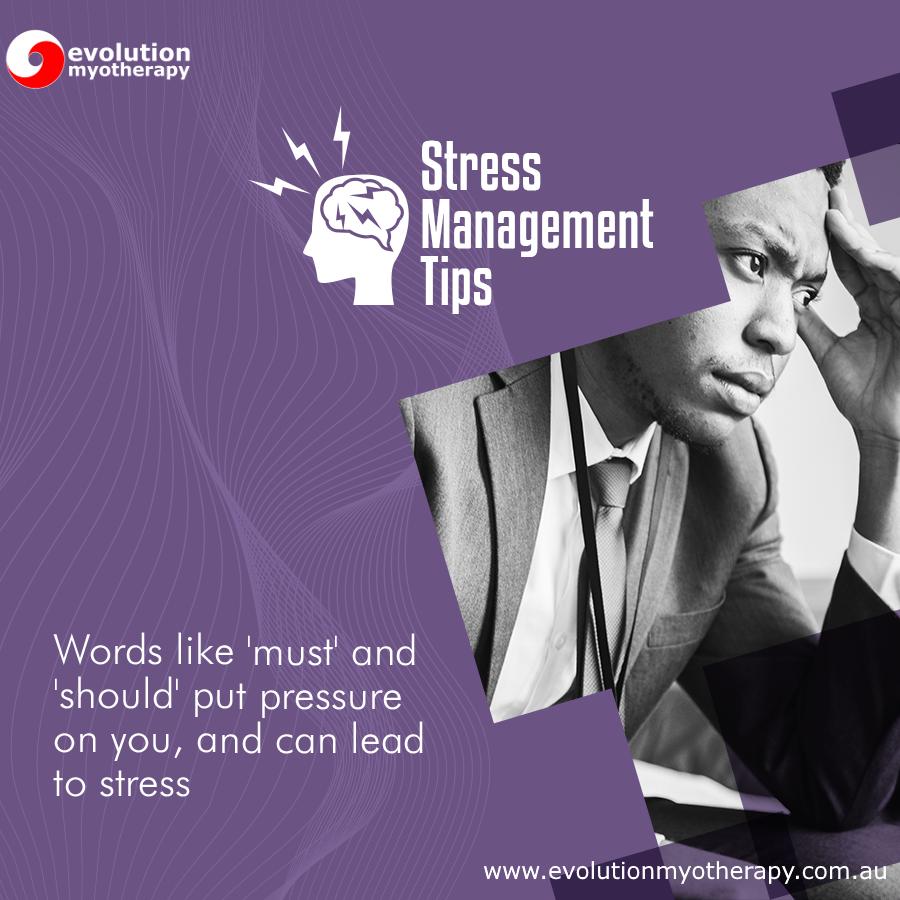 Stress Management Tips #7