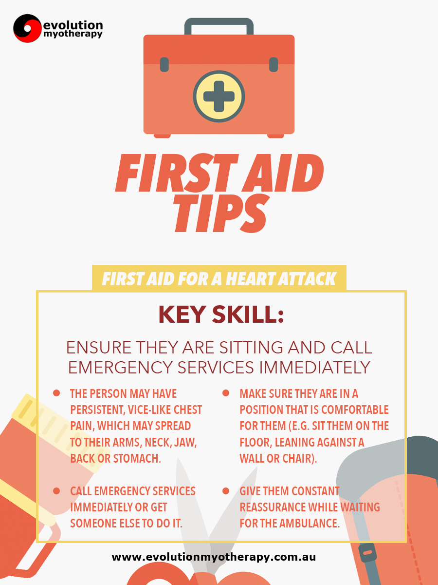 First Aid Tips #6: Heart Attack