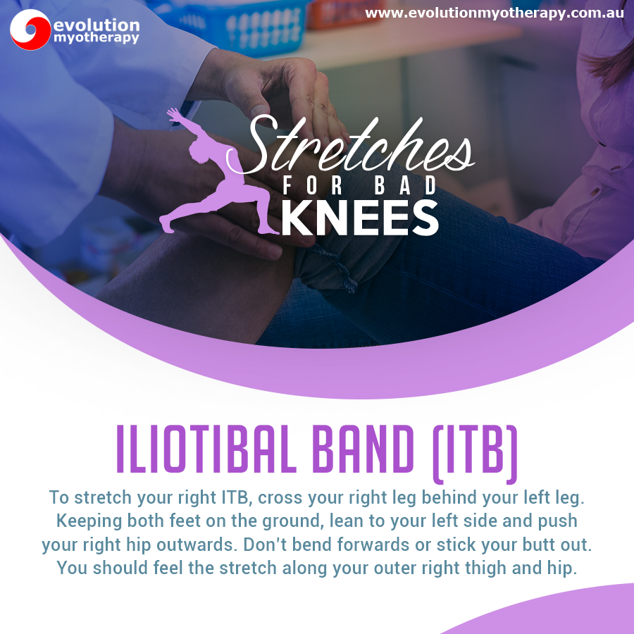 Stretches For Bad Knees: Iliotibial Band
