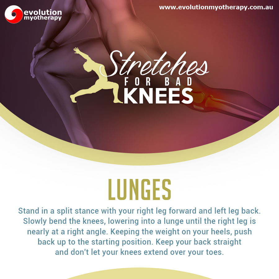 Stretches For Bad Knees: Lunges