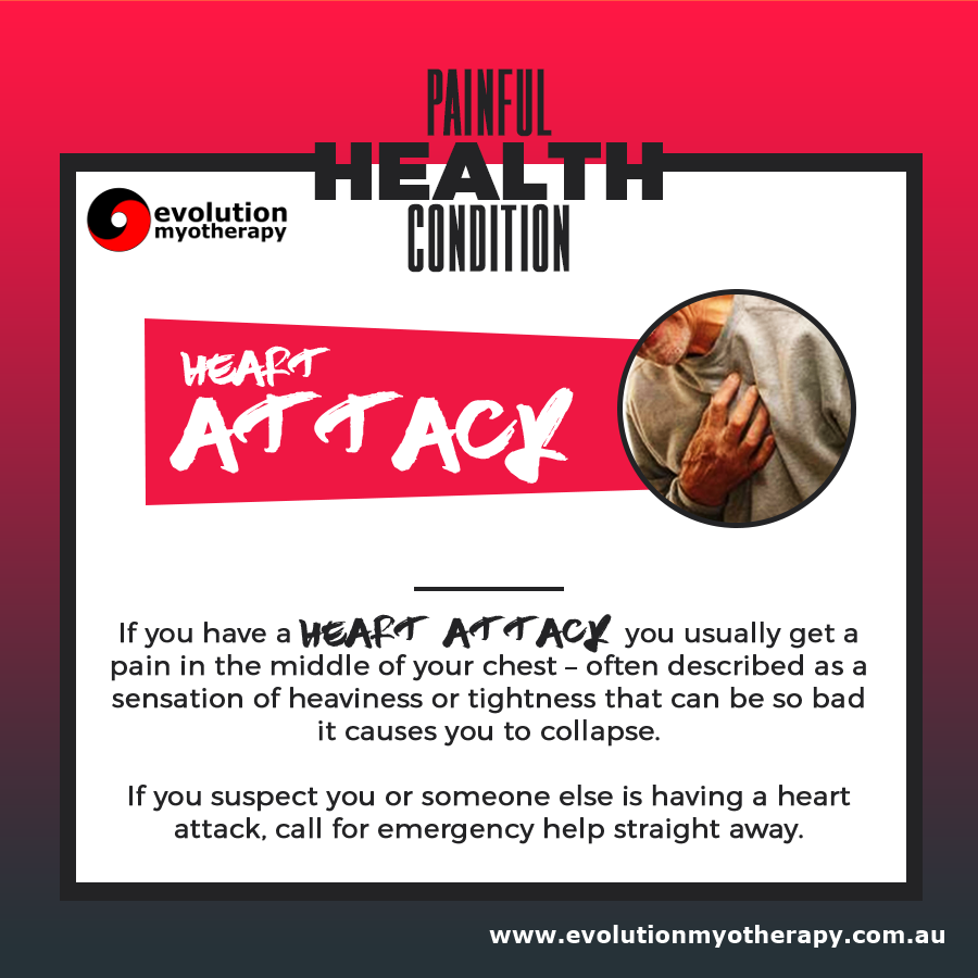 Painful Health Conditions: Heart Attack