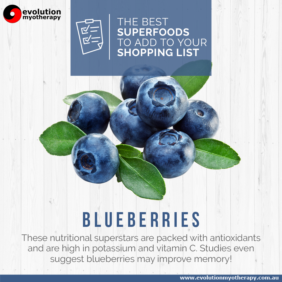 Shopping List Superfoods: Blueberries