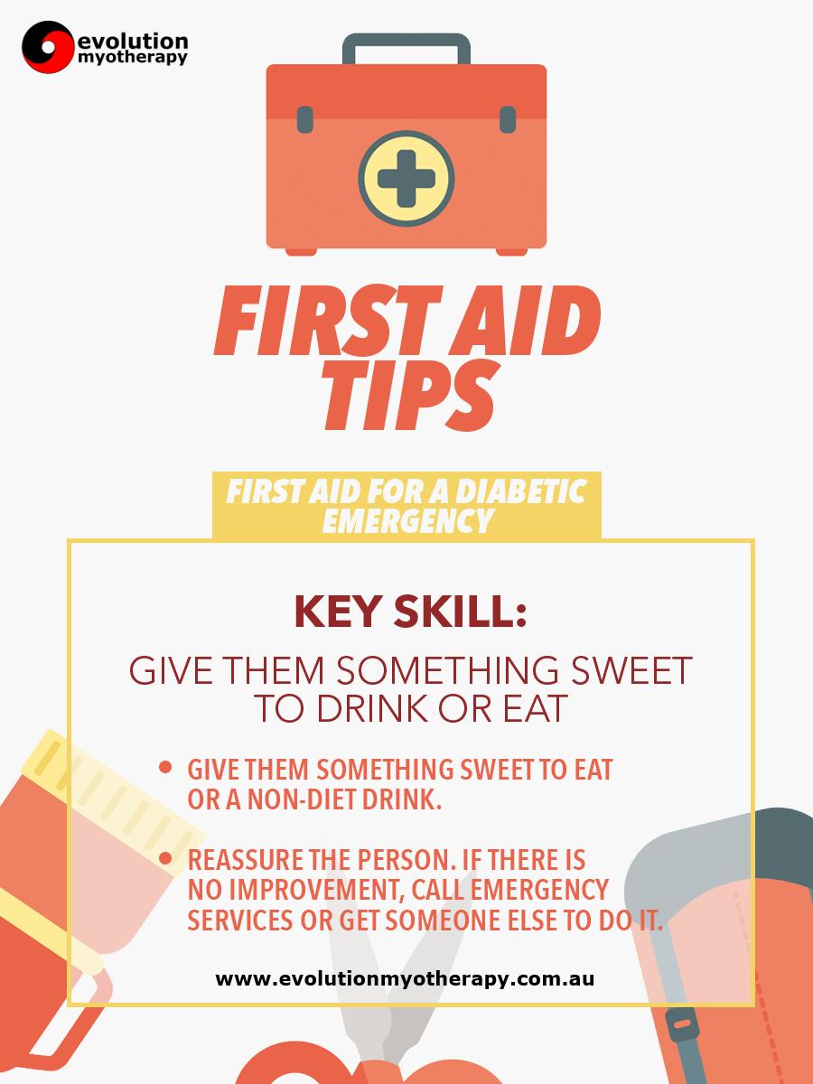 First Aid Tips #9: Diabetic Emergency