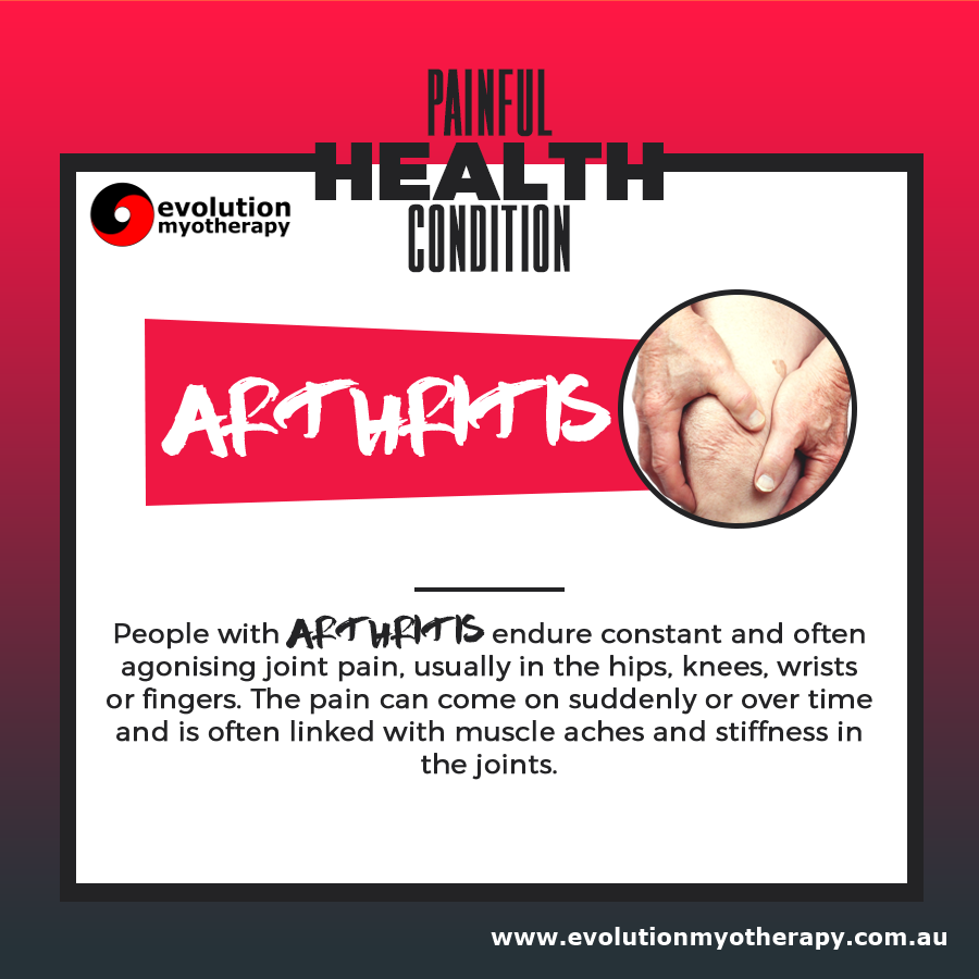 Painful Health Conditions: Arthritis