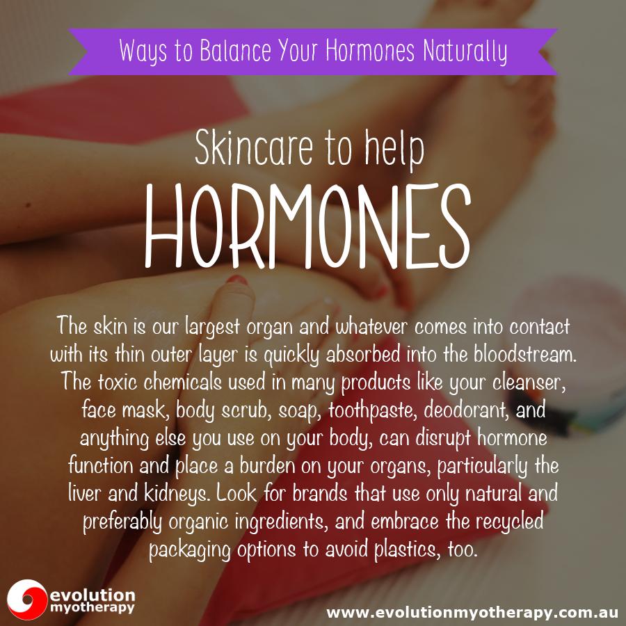 Skincare To Help Hormones