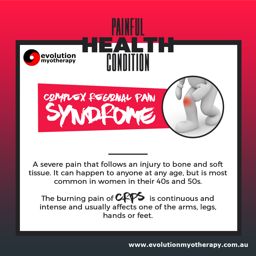 Painful Health Conditions: Complex Regional Pain Syndrome
