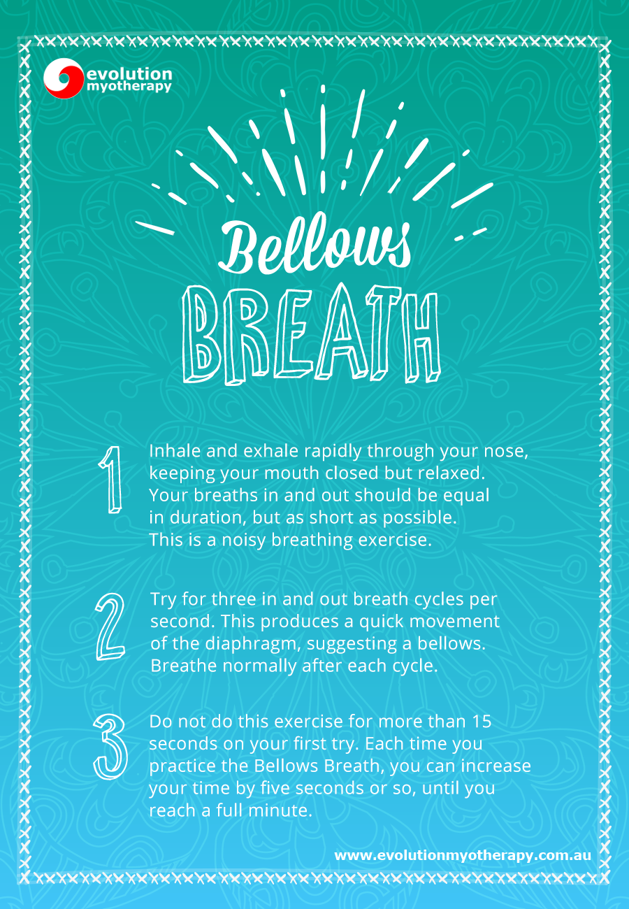 Breathing Exercises: Bellows Breath
