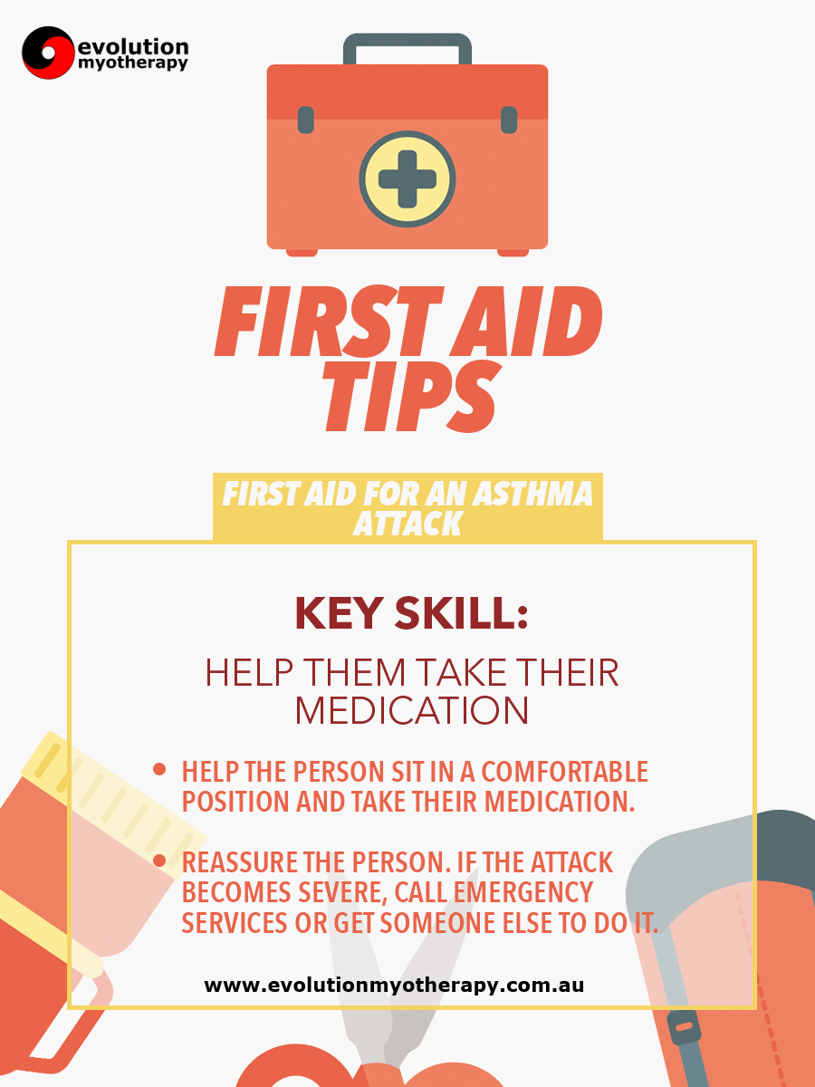 First Aid Tips #10: Asthma Attack