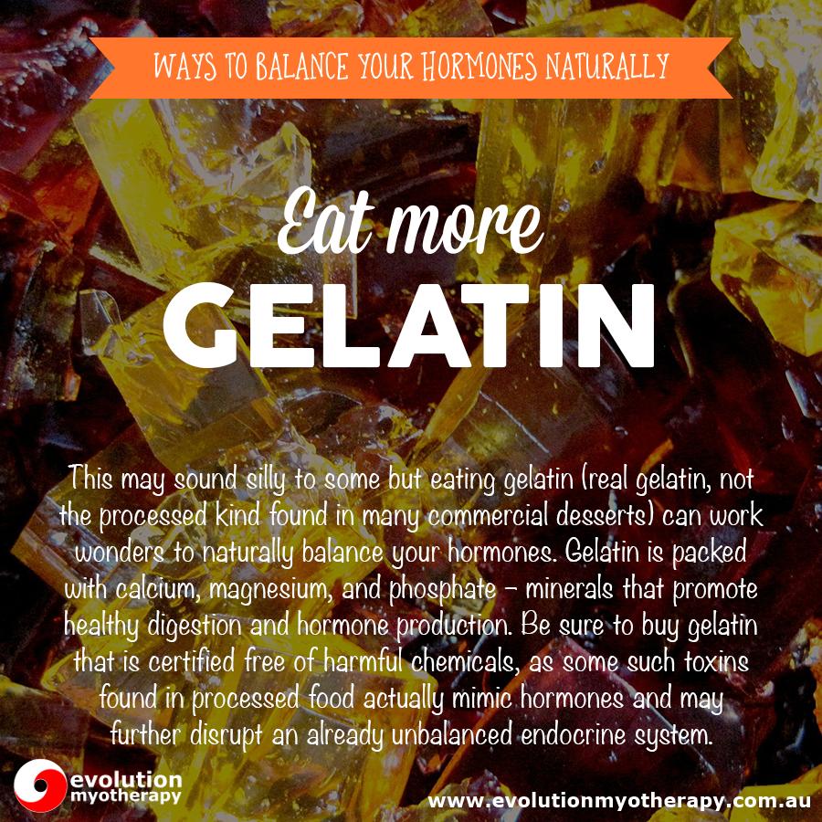 Eat More Gelatin