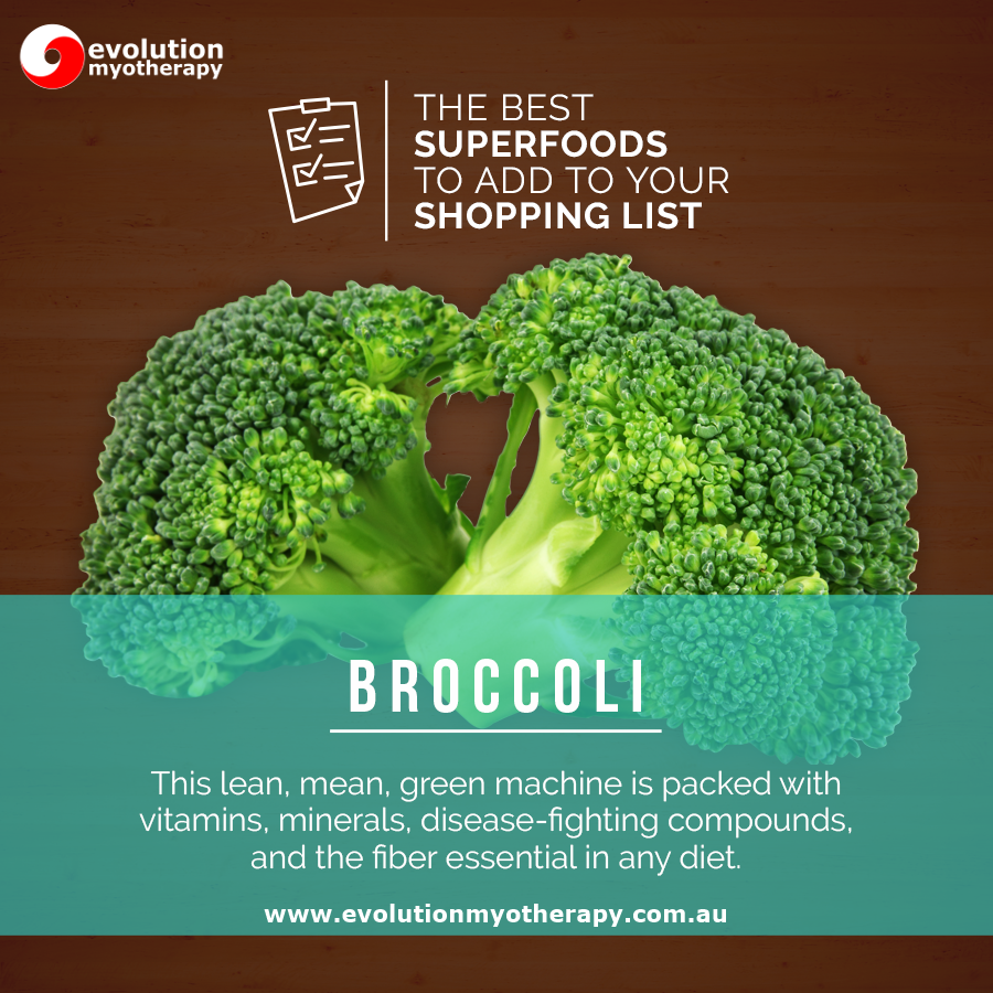 Shopping List Superfoods: Broccoli