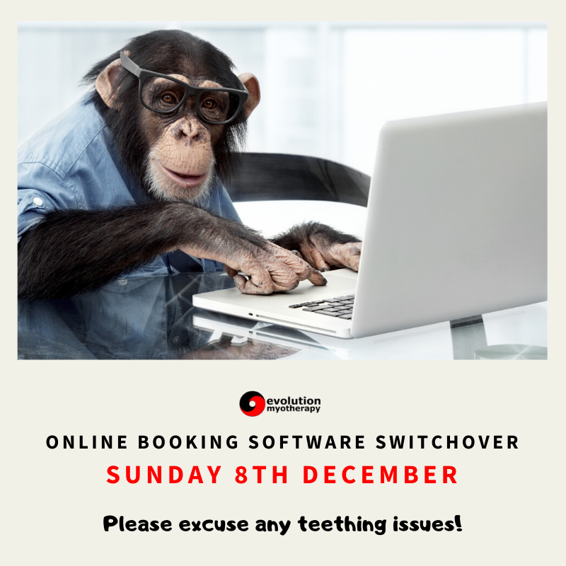 NEWS: Online Booking System Switchover