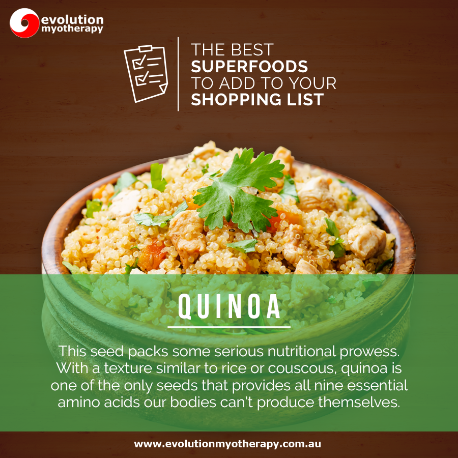 Shopping List Superfoods: Quinoa
