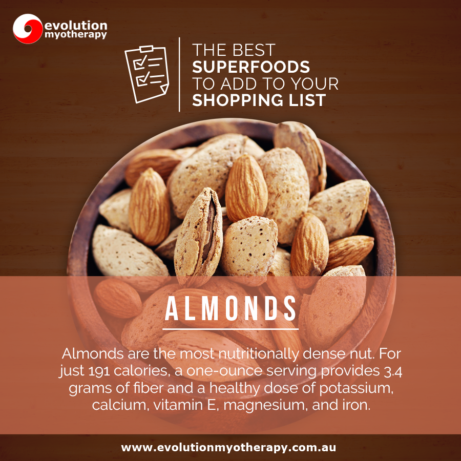 Shopping List Superfoods: Almonds