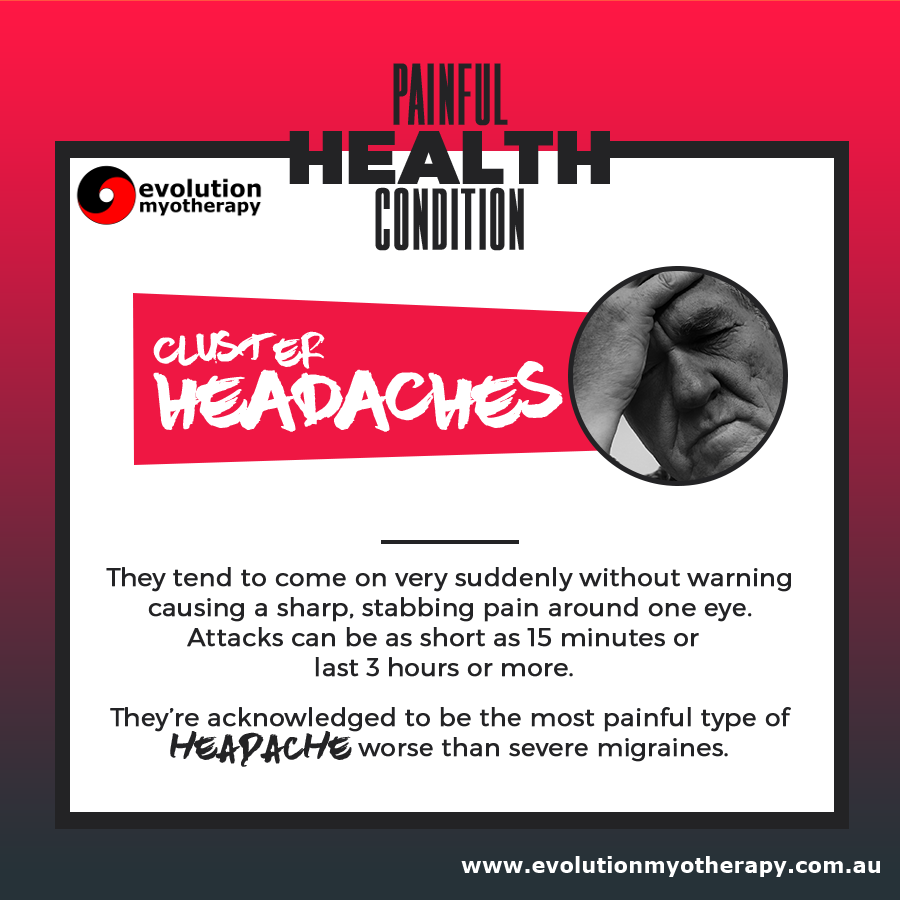 Painful Health Conditions: Cluster Headaches
