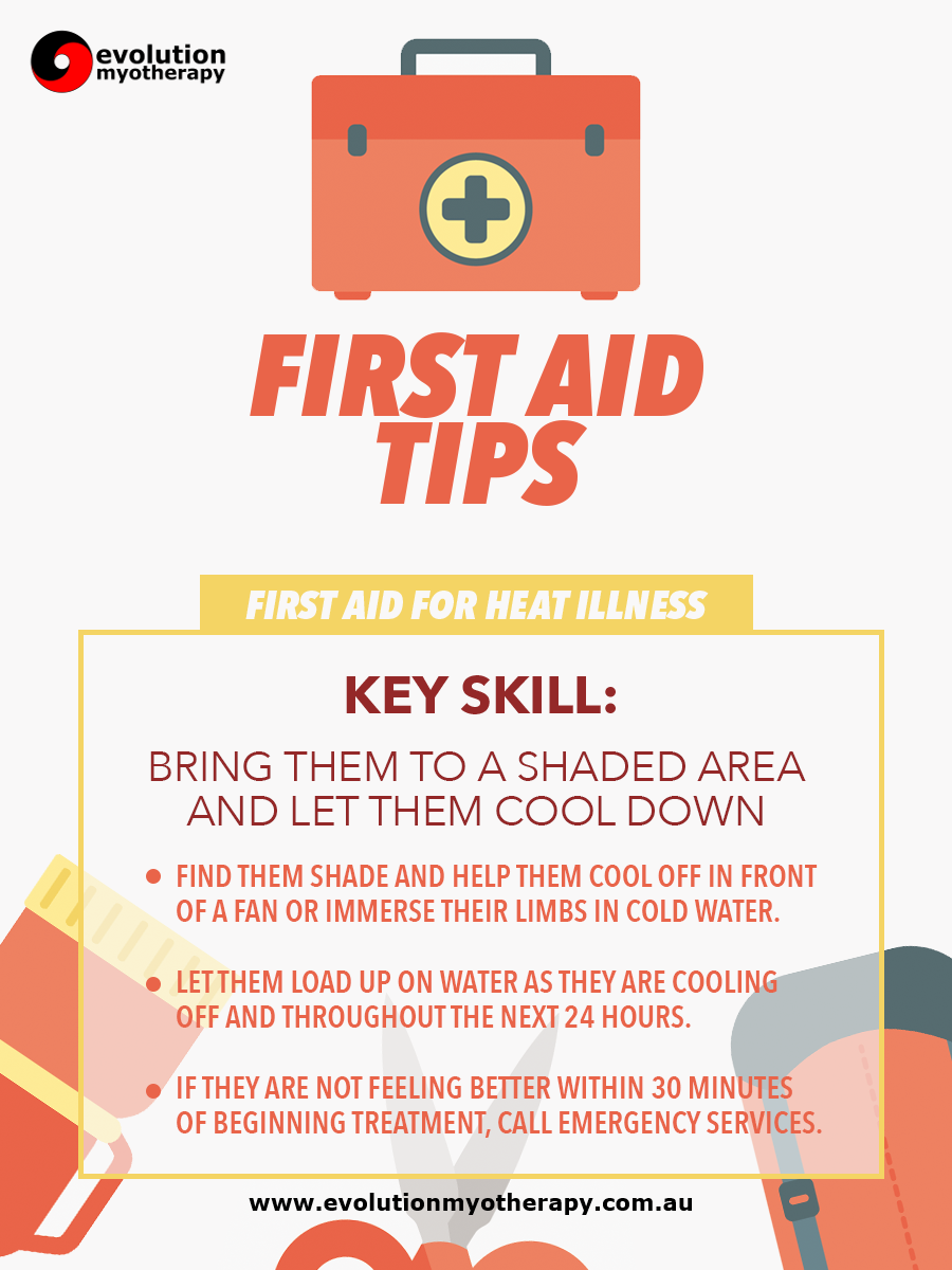 First Aid Tips #15: Heat Illness