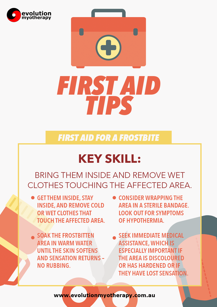 First Aid Tips #14: Frostbite