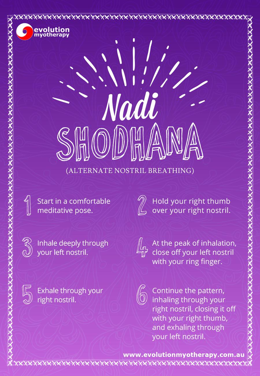 Breathing Exercises: Nadi Shodhana