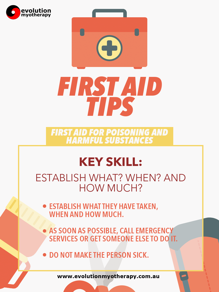 First Aid Tips #11: Poisoning