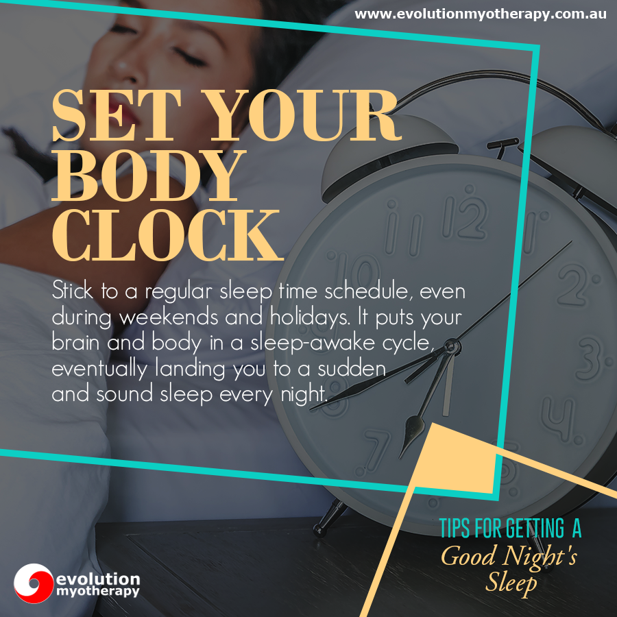 Tips For Getting A Good Night's Sleep #9