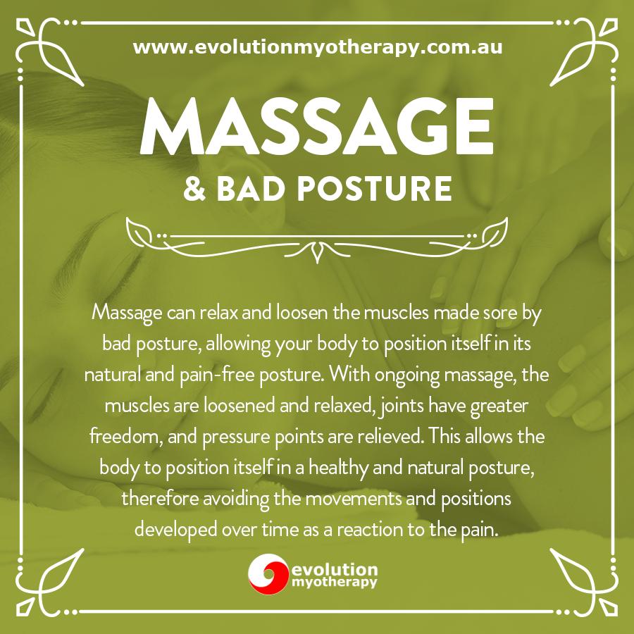 Massage & Bad Posture