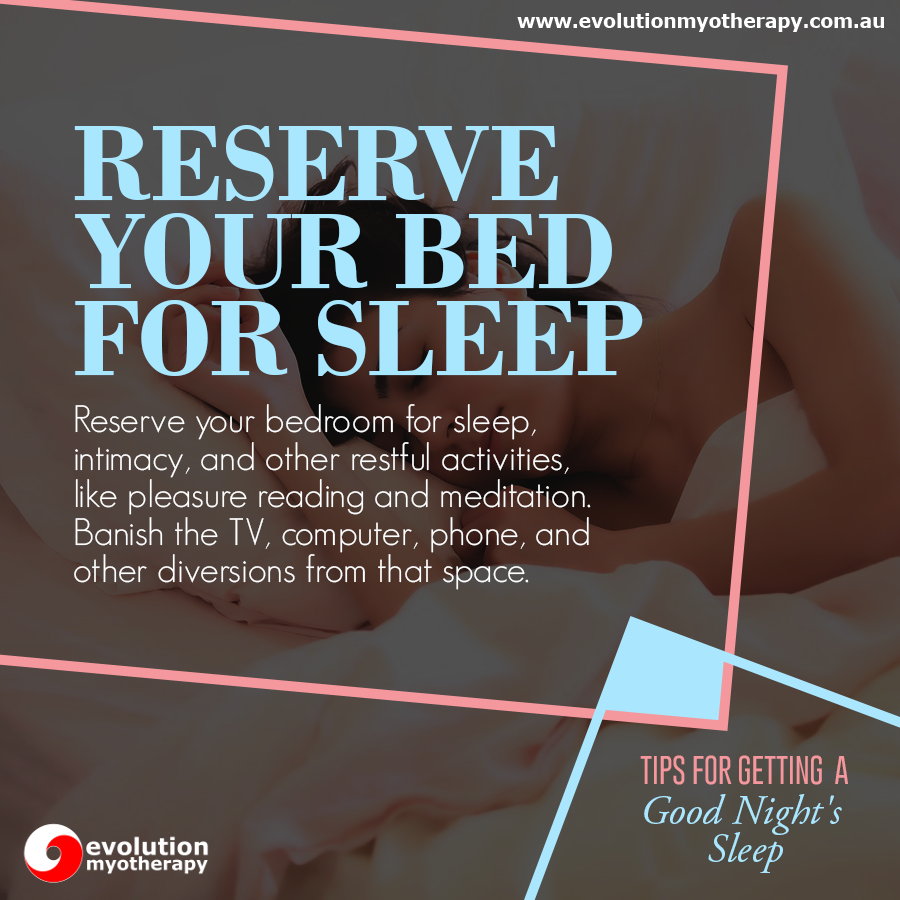 Tips For Getting A Good Night's Sleep #8
