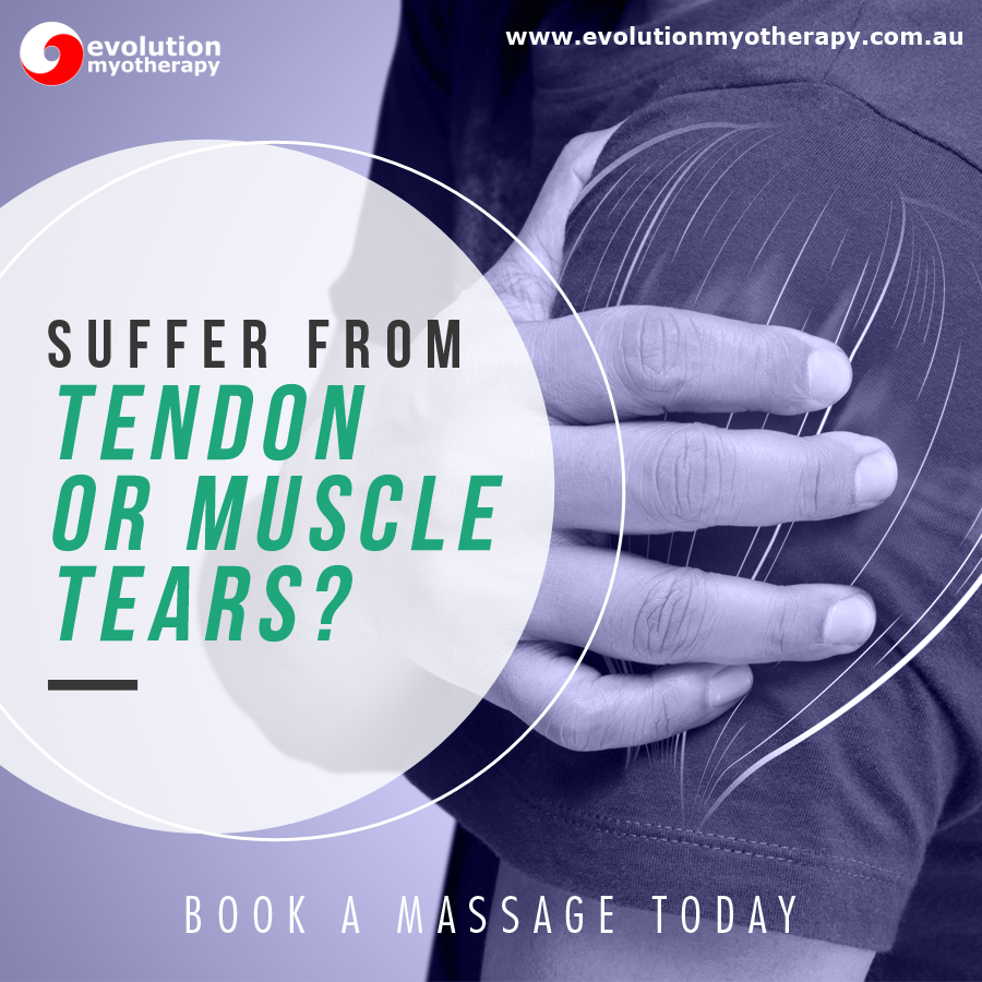 Common Ailments: Tendon or Muscle Tears