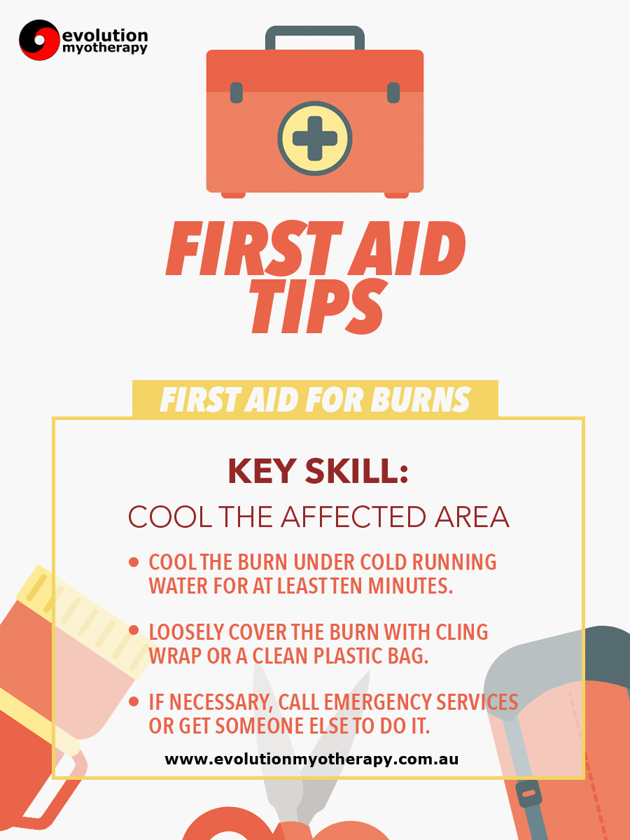 First Aid Tips #4: Burns