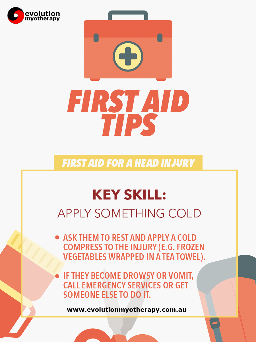 First Aid Tips #12: Head Injury