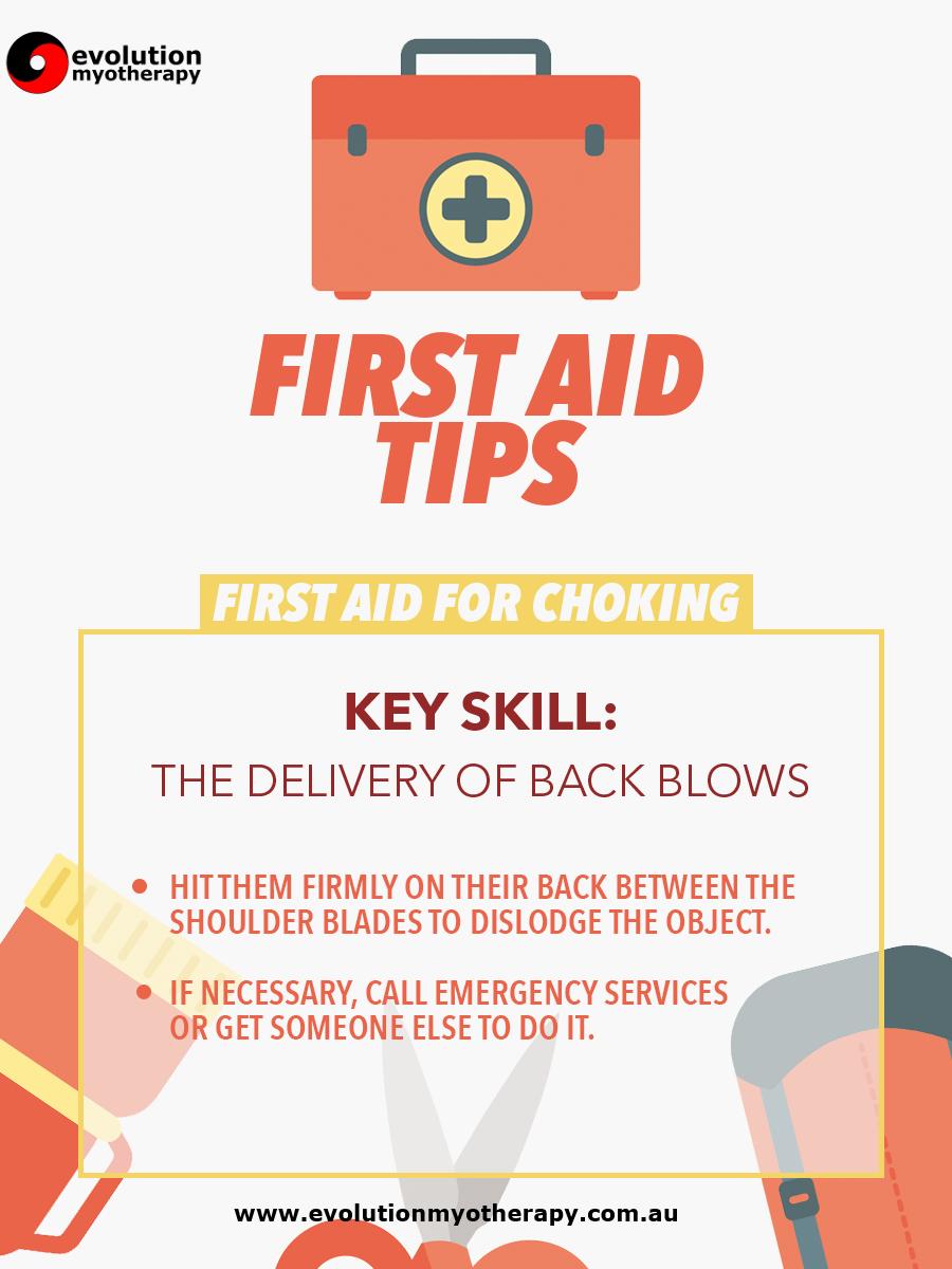 First Aid Tips #1: Choking