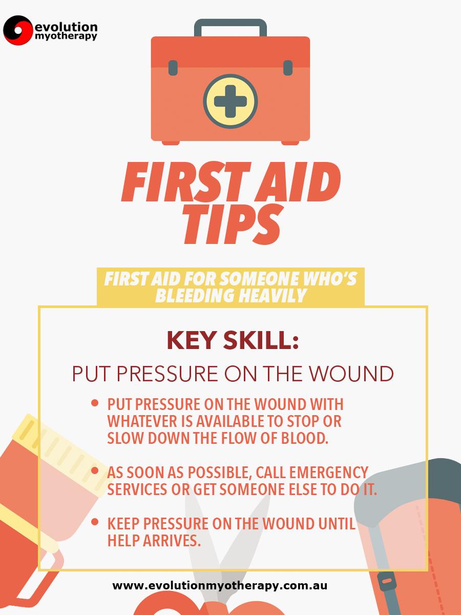First Aid Tips #3: Bleeding