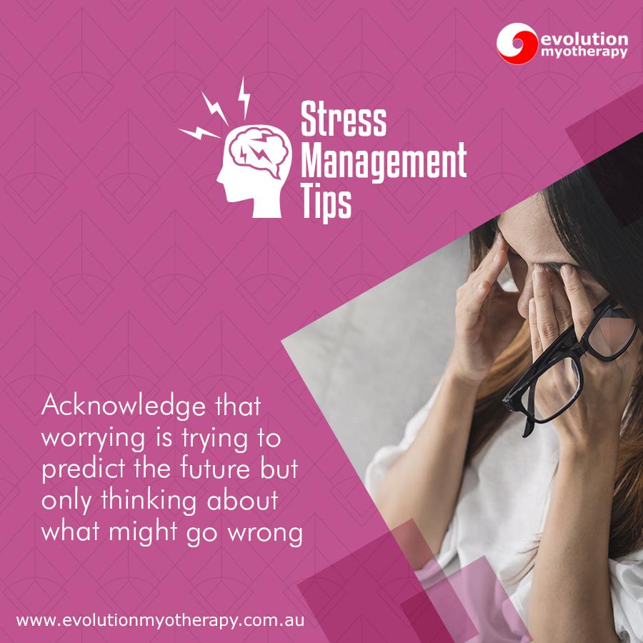 Stress Management Tips #13