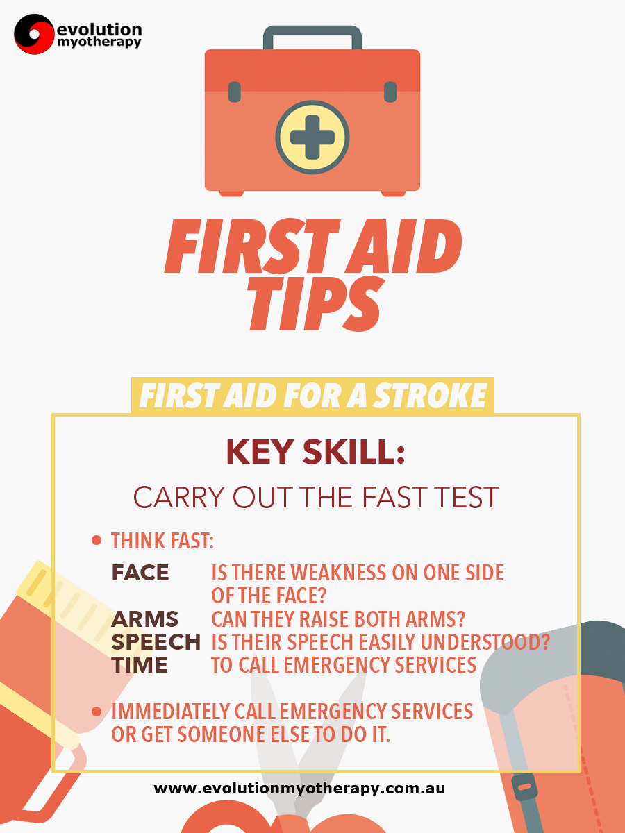 First Aid Tips #7: Stroke