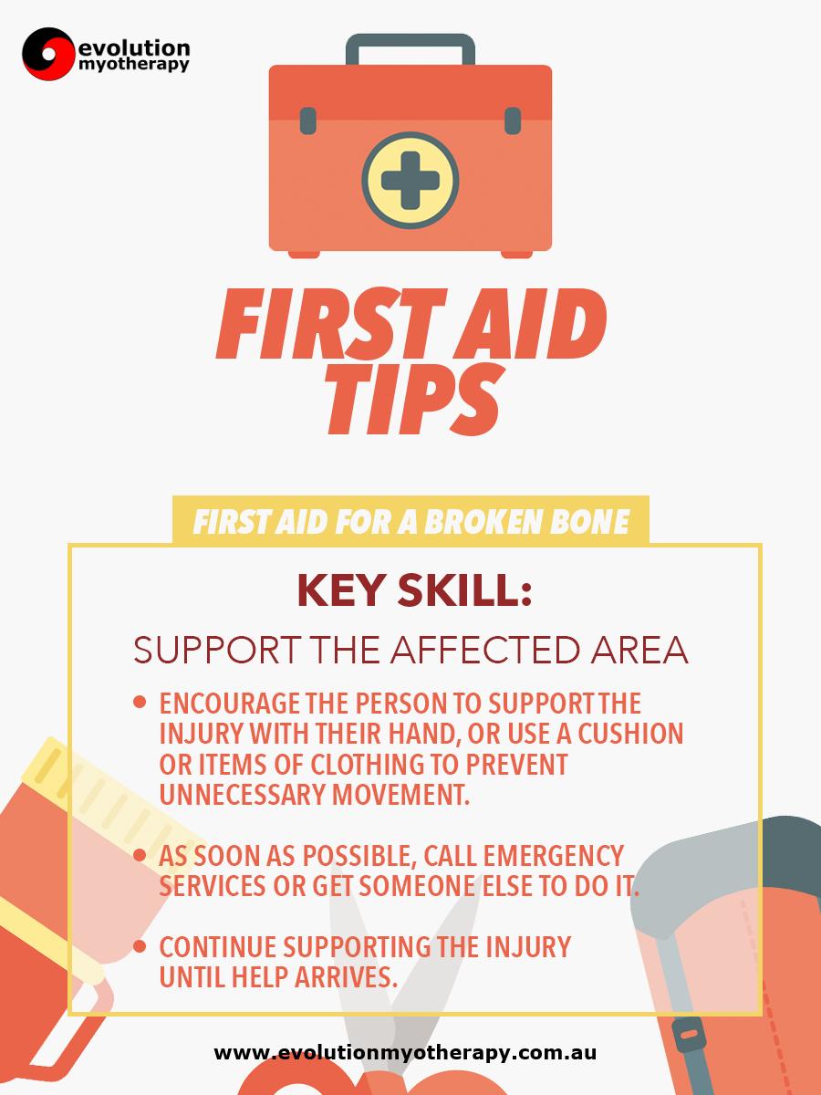 First Aid Tips #5: Broken Bones