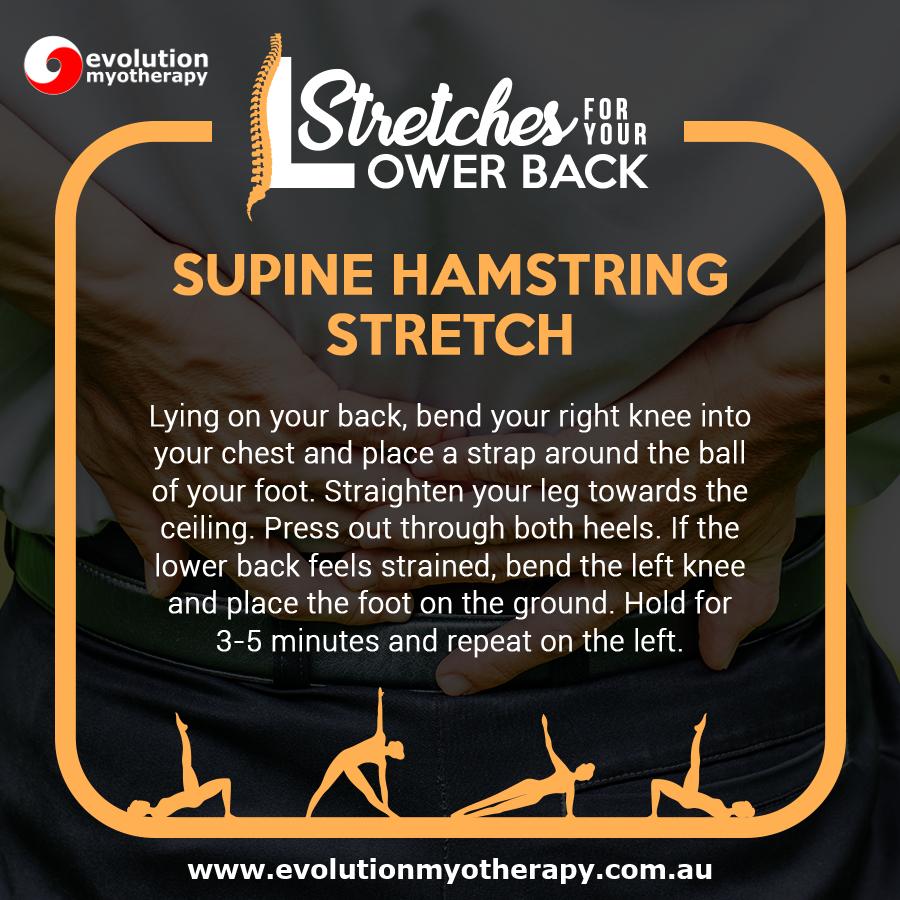 Supine Hamstring Stretch